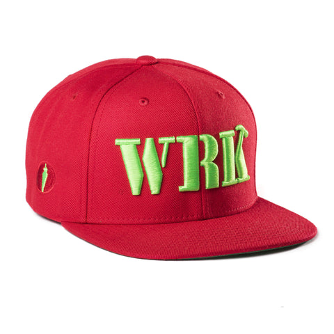 WRK Hat Red