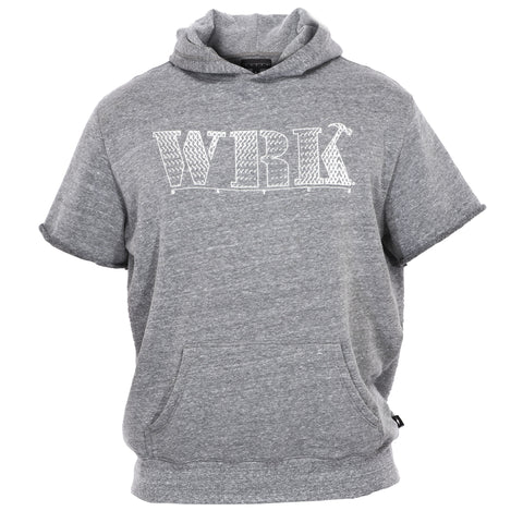 Pattern WRK Short Sleeve Hooded Sweatshirt
