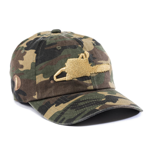 Chainsaw Strapback Hat Camo