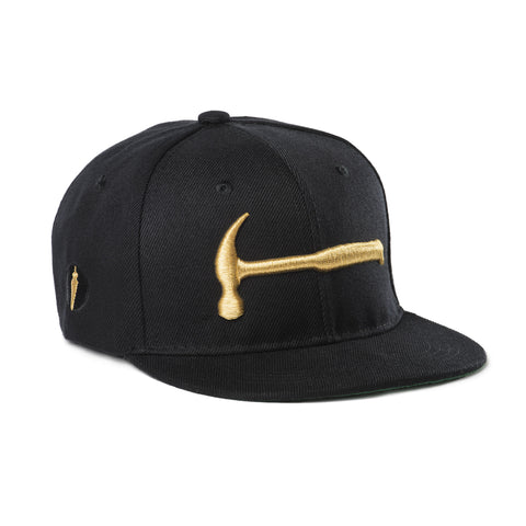 Kids Hammer Hat Black