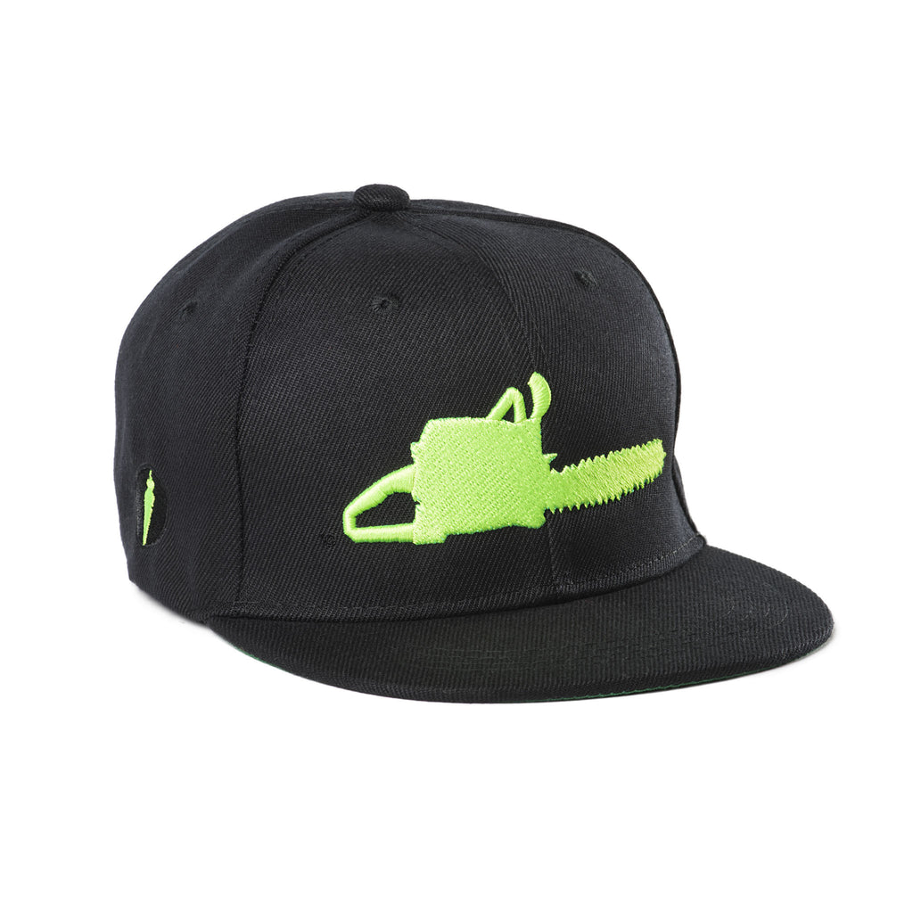 Kids Chainsaw Hat Black