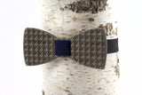 Catstooth Wooden Bow Tie