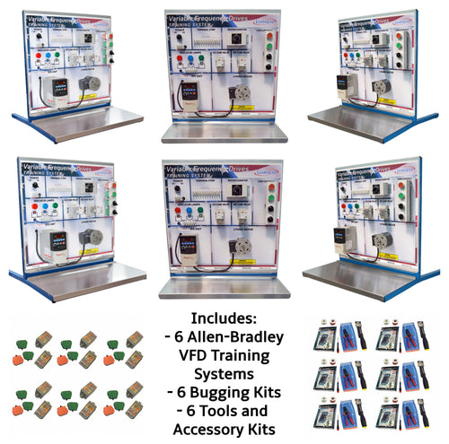 Allen-Bradley VFD PowerFlex 4 Training Systems, 6PK