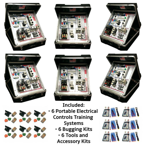 Portable Electrical Controls Training System, 6PK