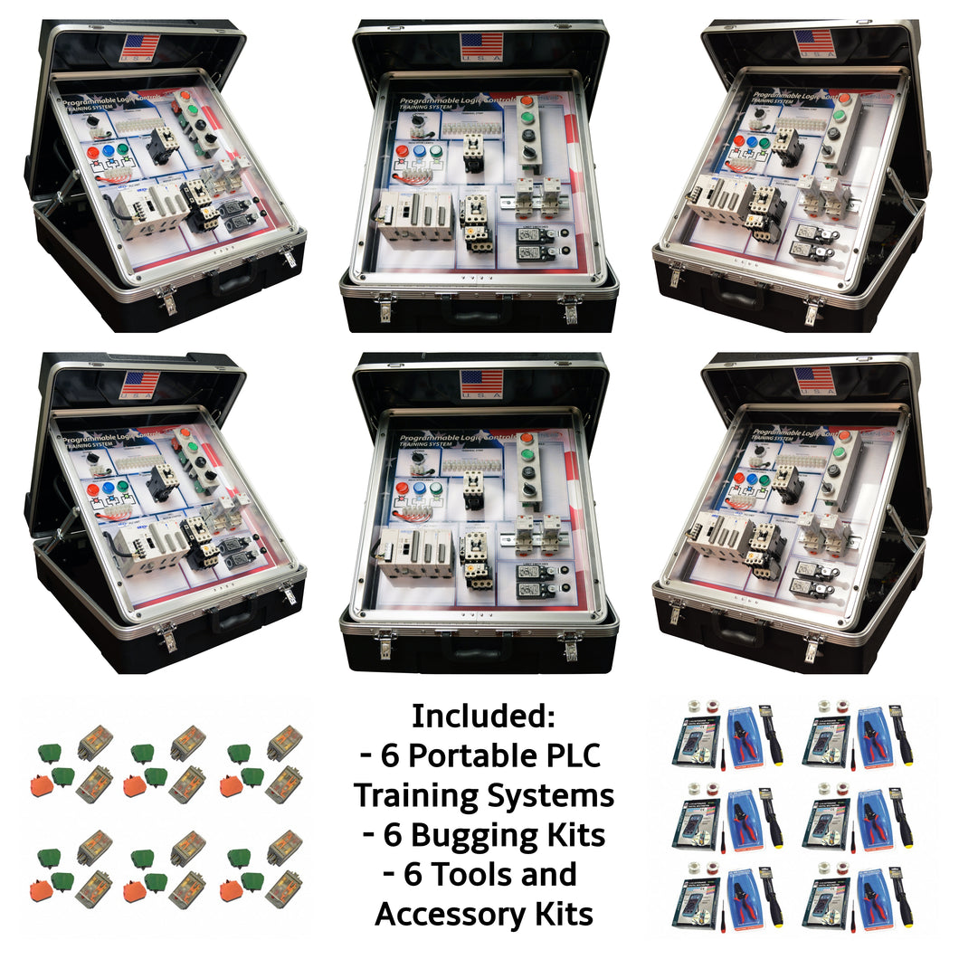 Portable PLC Training Systems, 6PK