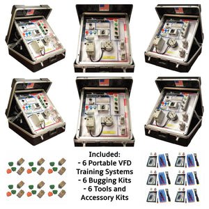 Portable VFD Training Systems, 6PK