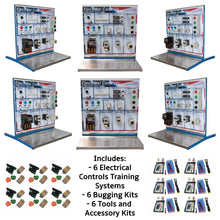 Load image into Gallery viewer, Electrical Controls Training System, 6PK