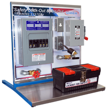 Load image into Gallery viewer, Allen-Bradley Electrical Classroom Training Set WITH Lock-Out Tag-Out