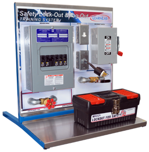 Allen-Bradley Electrical Classroom Training Set WITH Lock-Out Tag-Out