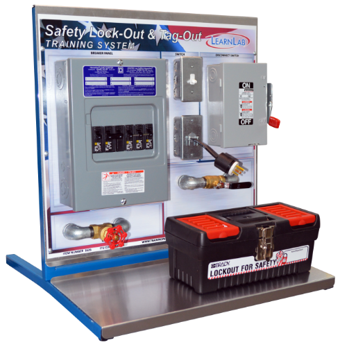 Safety Lock-Out Tag-Out Training System