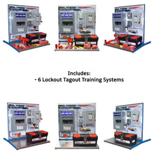 Load image into Gallery viewer, Safety Lockout Tagout Training Systems, 6PK