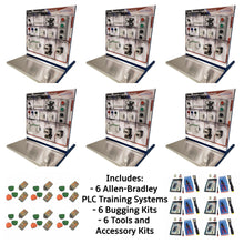Load image into Gallery viewer, Allen-Bradley PLC Micro 820 Training Systems, 6PK