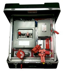 Portable Safety Lockout Tagout Training System