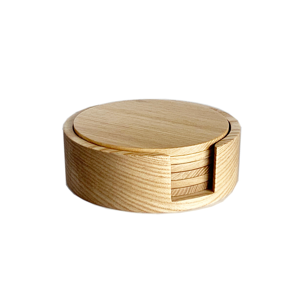 Nel Lusso Tokyo 6 Piece Natural Coaster Set