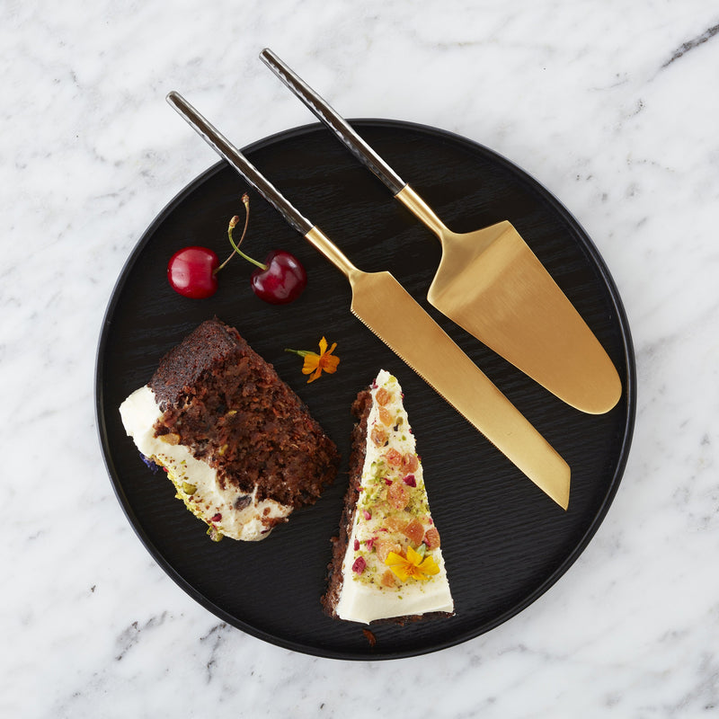 Nel Lusso Santo Cake and Knife Set - PRE-ORDER FOR APPROX LATE JUNE 2021