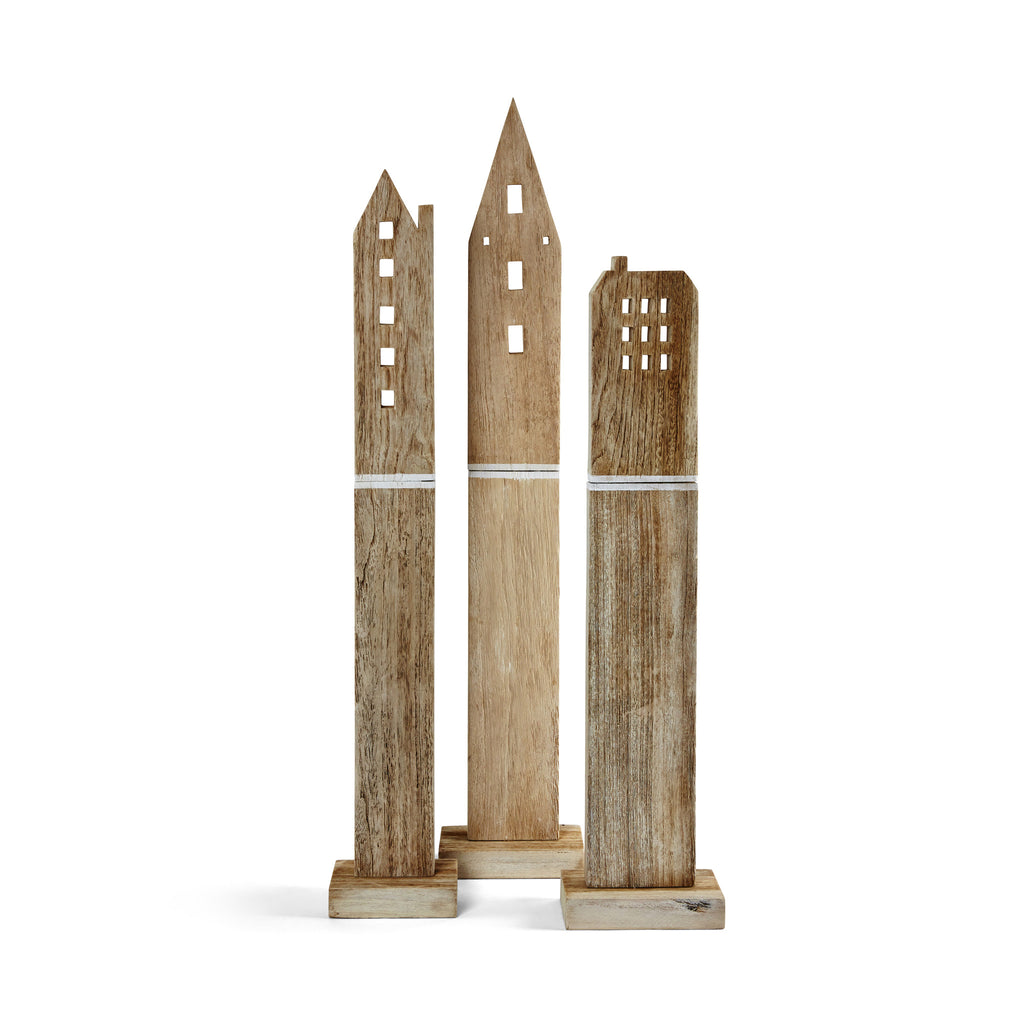 Nel Lusso Wooden towers
