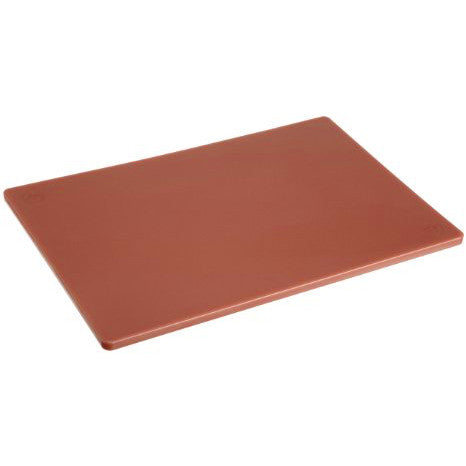 Brown Halco MD Poly Food service CuttingBoard 46cm x61cm x1.3cm