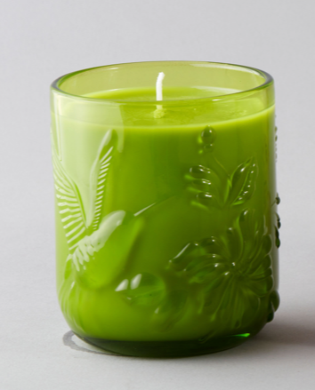 Noon Candle Green - French Pear and Ylang Ylang scented