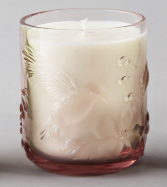 Dawn Candle Pink - Lime, Basil and Mandarin Scented
