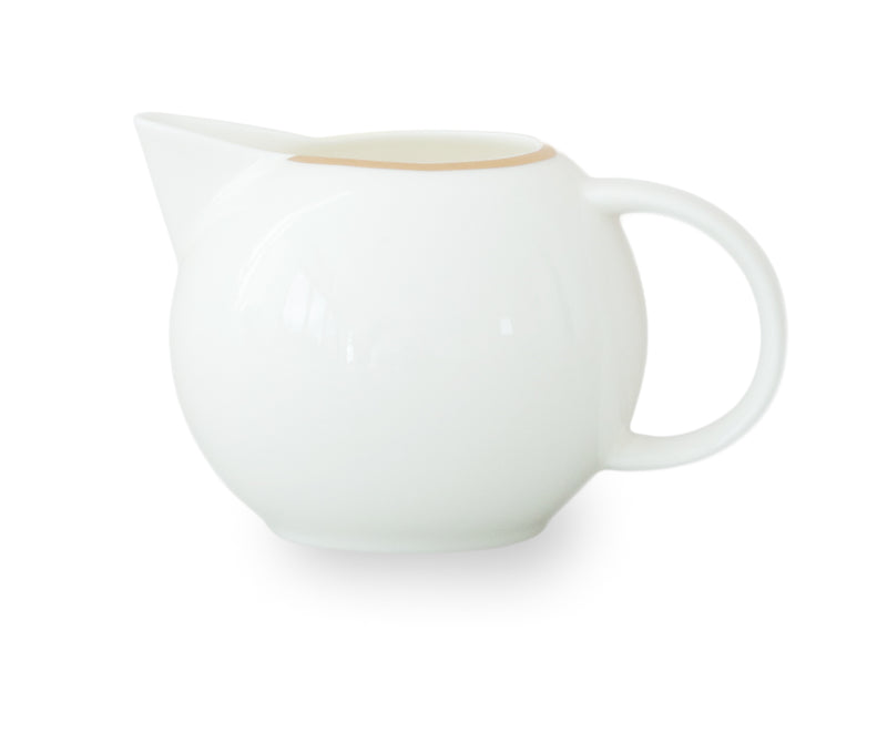 Gold Rimmed Creamer 150ml