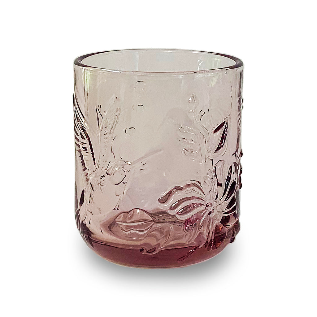 Dawn Rainforest Glass Pink