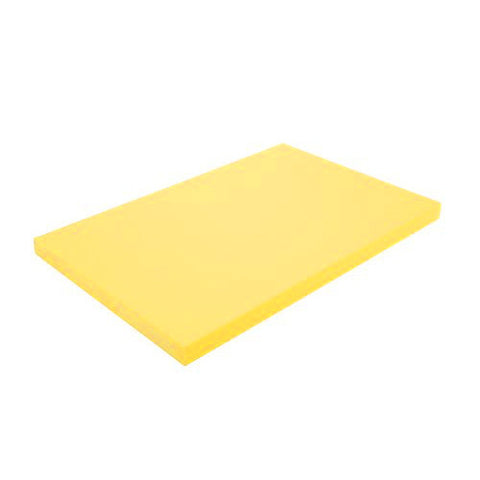 Yellow MD PolyCuttingBoard 45.7x61x1.3cm
