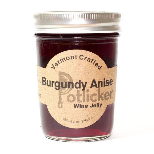 Burgundy Anise Wine Jelly 8 oz Jar
