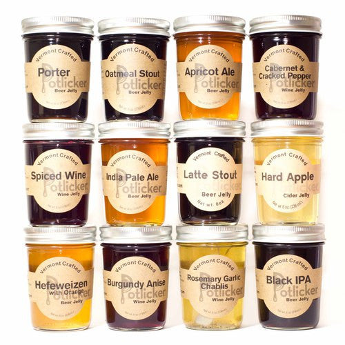 Wine & Beer Jelly Mixed Case 12/Pack