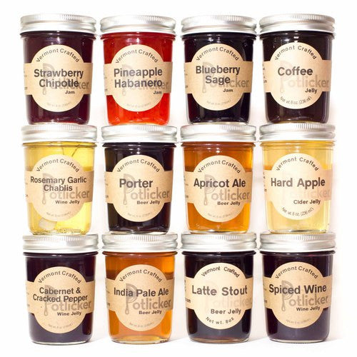 Custom Gourmet Jelly 12-Pack