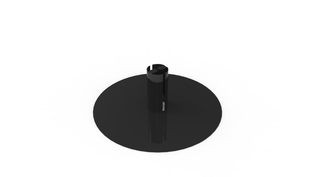 Steel Base For Outdoor Garden Torches