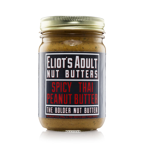 Eliot's Adult Spicy Thai Peanut Butter