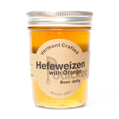 Hefeweizen With Orange Beer Jelly 8 oz Jar