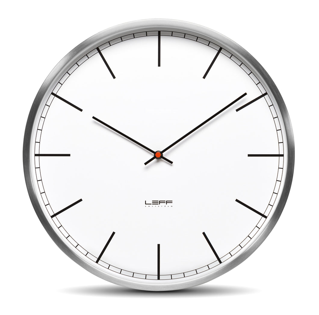 One Minimalist Wall Clock By Wiebe Teertstra