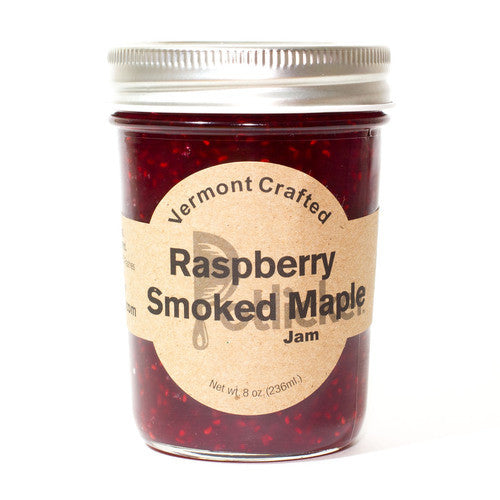 Raspberry Smoked Maple Jam 8 oz Jar