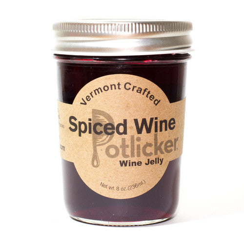Nutmeg Spiced Wine Jelly 8 oz Jar