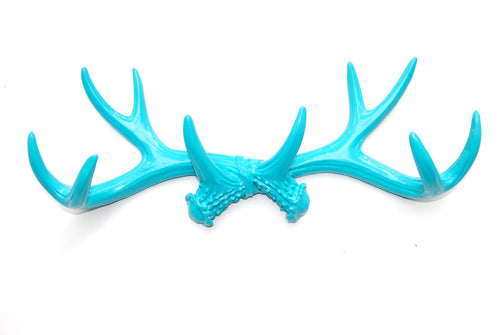 Faux Taxidermy Antler Hook