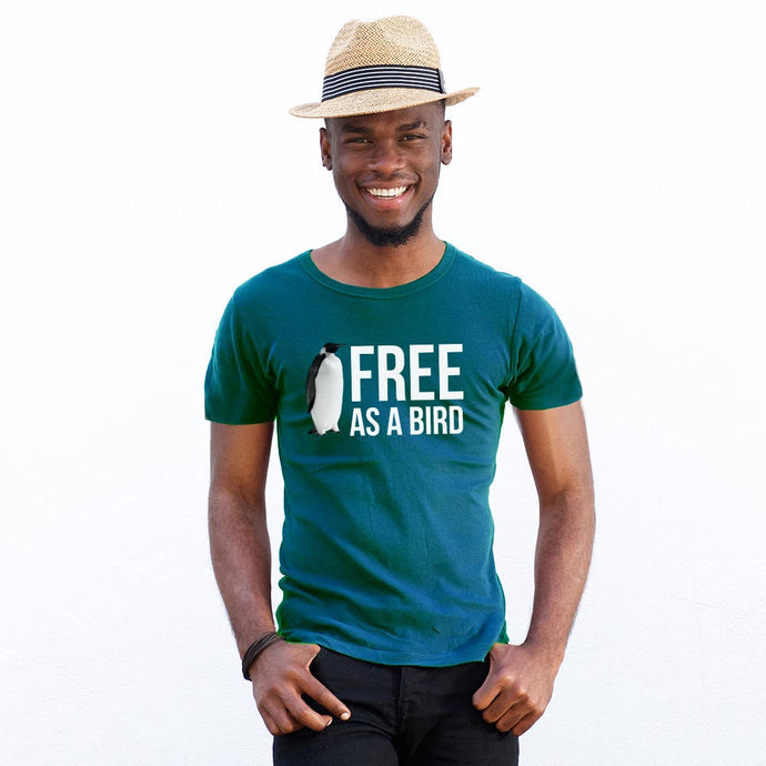 Free As a Bird (Men's T-shirt)