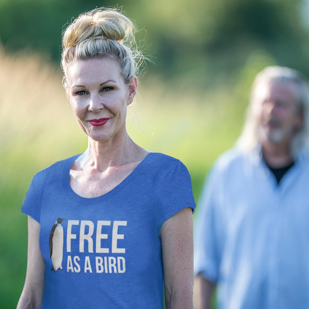 Free As a Bird (Women's T-shirt)