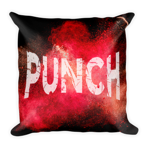Punch & Cry (Decorative Pillow)