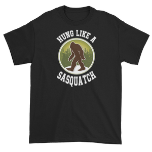 Hung Like a Sasquatch (Men's T-shirt)