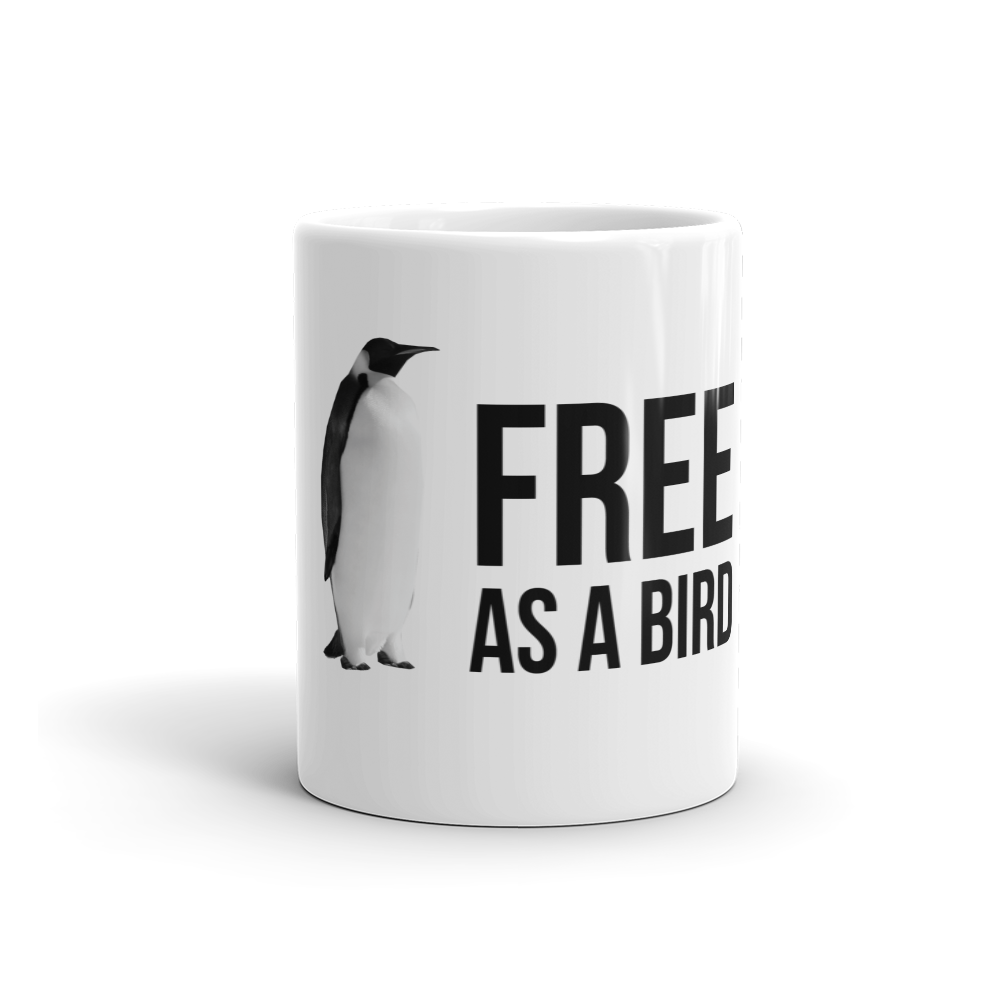 Free as a Bird Coffee Mug