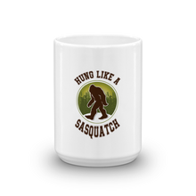 Hung Like a Sasquatch Coffee Mug