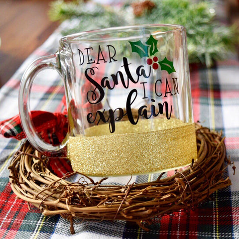 Dear Santa I Can Explain - Christmas Coffee Mug