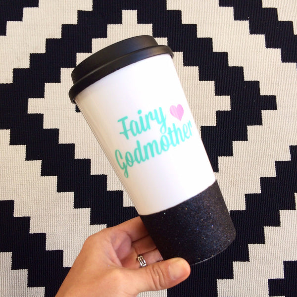 Fairy Godmother - Coffee Travel Mug - Twinkle Twinkle Lil' Jar - 1