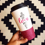 Do What You Love - Coffee Travel Mug - Twinkle Twinkle Lil' Jar - 1