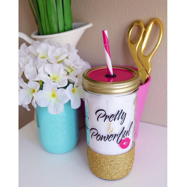 Pretty & Powerful - Tumbler - Twinkle Twinkle Lil' Jar - 1