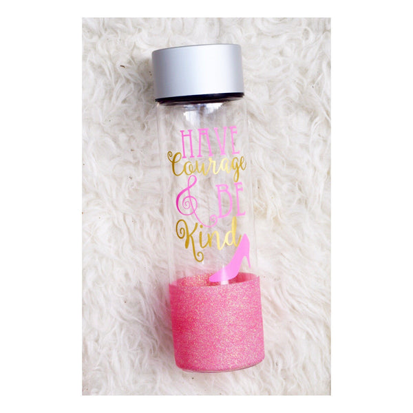 Have Courage And Be Kind  - Water Bottle - Twinkle Twinkle Lil' Jar - 1
