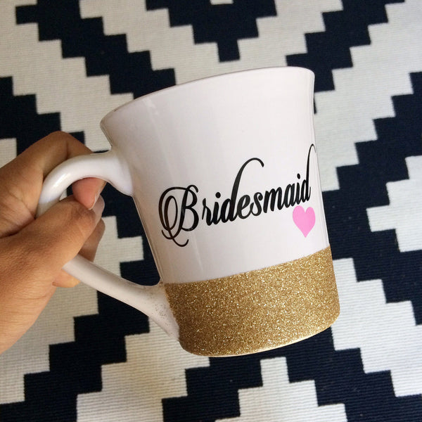 Bridesmaid - Coffee Mug - Twinkle Twinkle Lil' Jar - 1