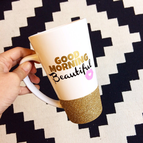 Good Morning Beautiful - Coffee Mug - Twinkle Twinkle Lil' Jar - 1