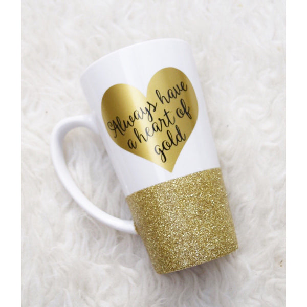 Always Have A Heart Of Gold - Coffee Mug - Twinkle Twinkle Lil' Jar - 1